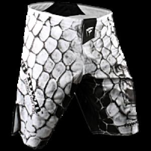 Шорты для ММА PunchTown Frakas Ryushin Shorts (PT-Ryushin-W) White р. 34